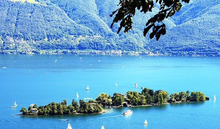 Brissago-eilanden, Ticino