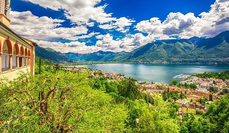 Lago Maggiore, Ticino