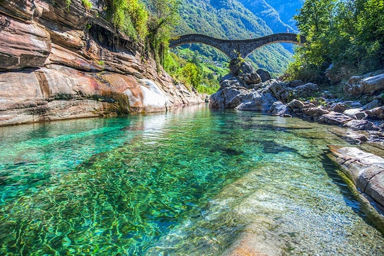 Ponti dei Salti, Ticino