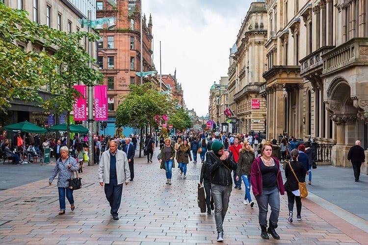 Winkelen in Glasgow