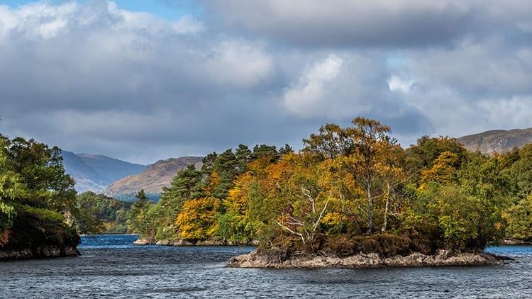 Loch Katrine, Schotland