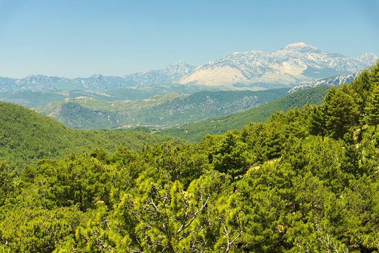 Taurusgebergte, Turkije