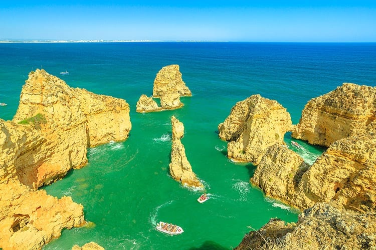 Boottocht Algarve