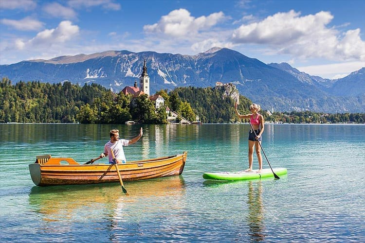 Camping Bled, Slovenie