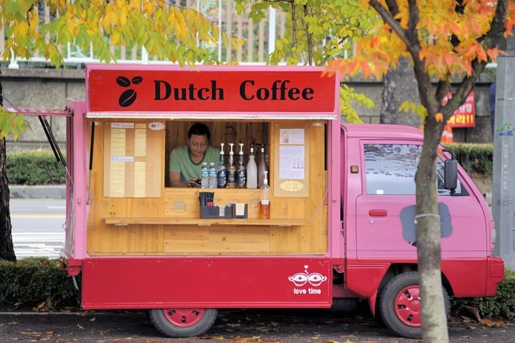 Dutch Coffee in Seaoul, Zuid-Korea