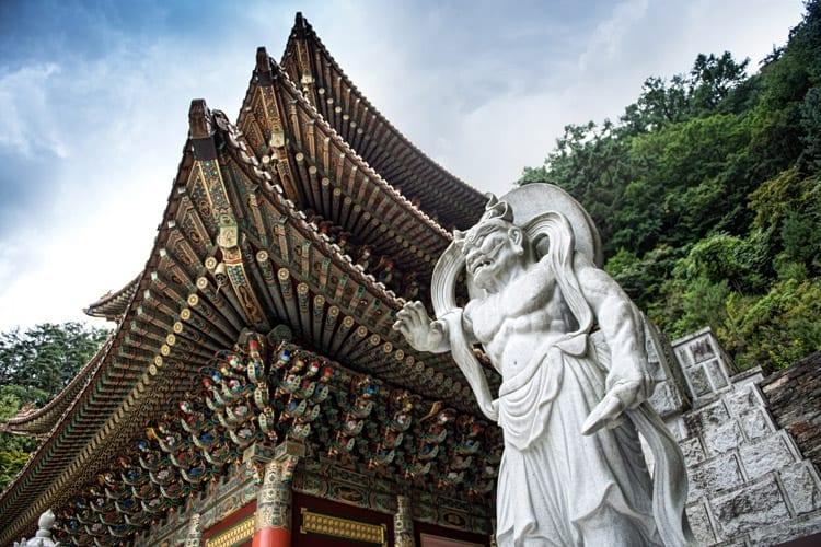 Guinsa tempel, Zuid-Korea