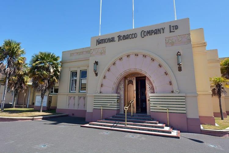 National Tobacco Company Building, Napier