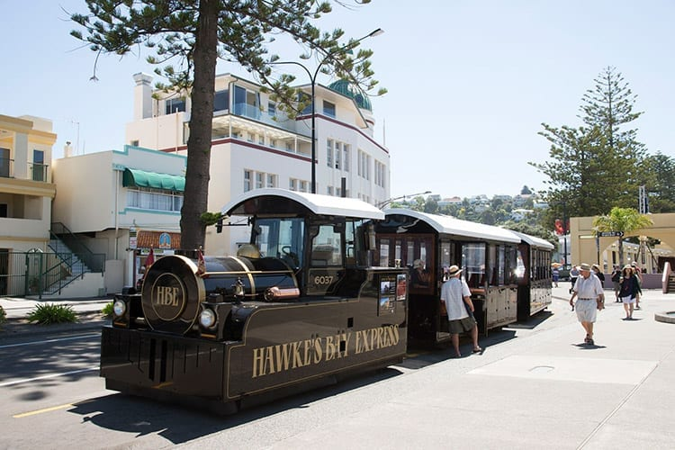 Hawke's Bay treinexpress, Napier
