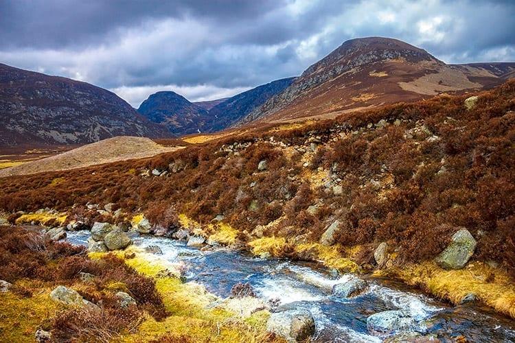 Cairngorms National Park, Schotland