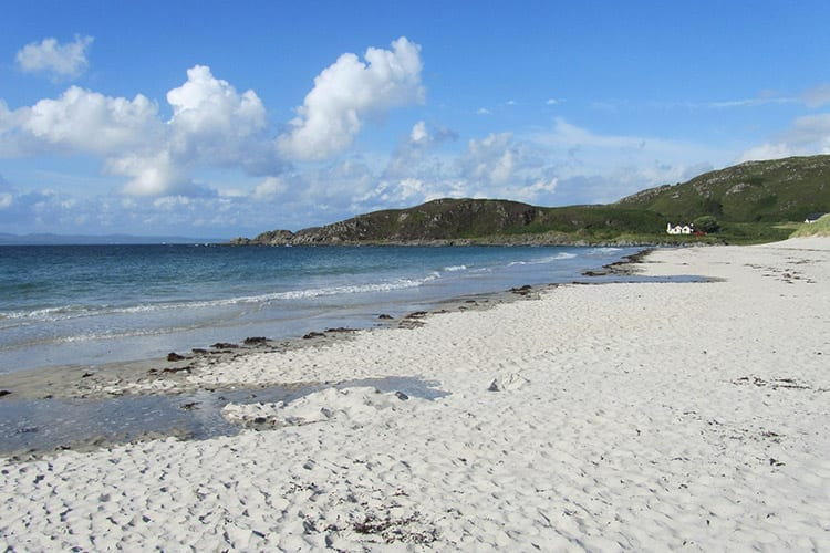 Camusdarach Beach, Schotland