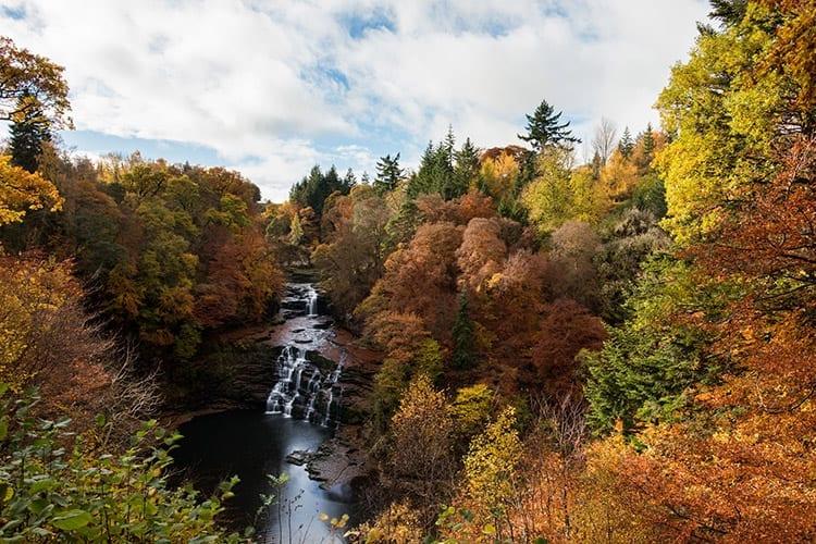 Falls of Clyde, Schotse Laaglanden