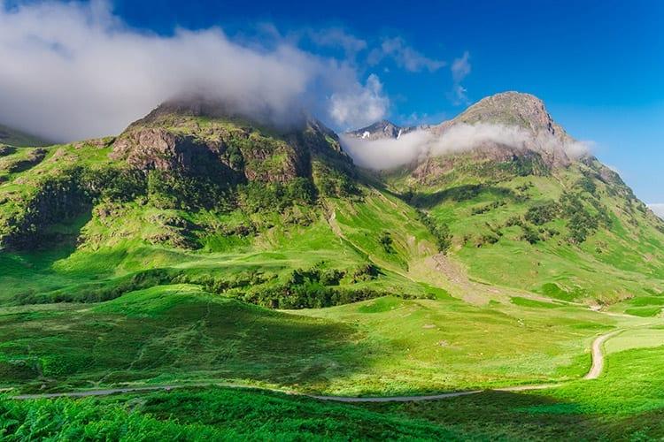 Glen Coe, Schotse Hooglanden