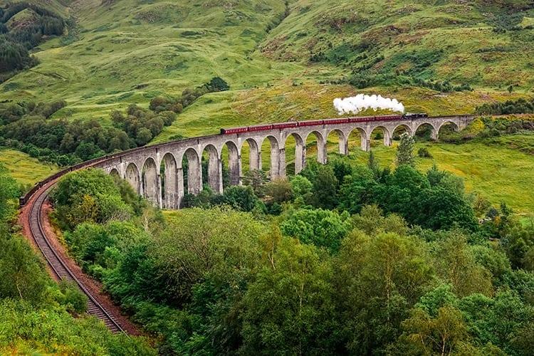 Glenfinnan viaduct, Schotse Hooglanden