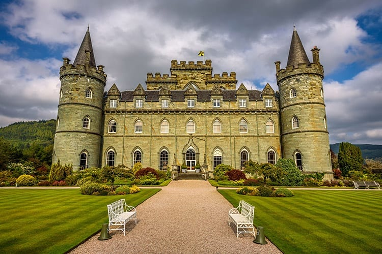 Inveraray Castle, Schotland