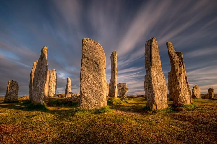 Callanish Standing Stones op het eiland Lewis