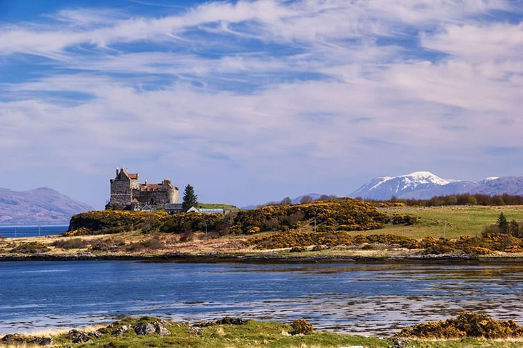 Duart Castle op Mull