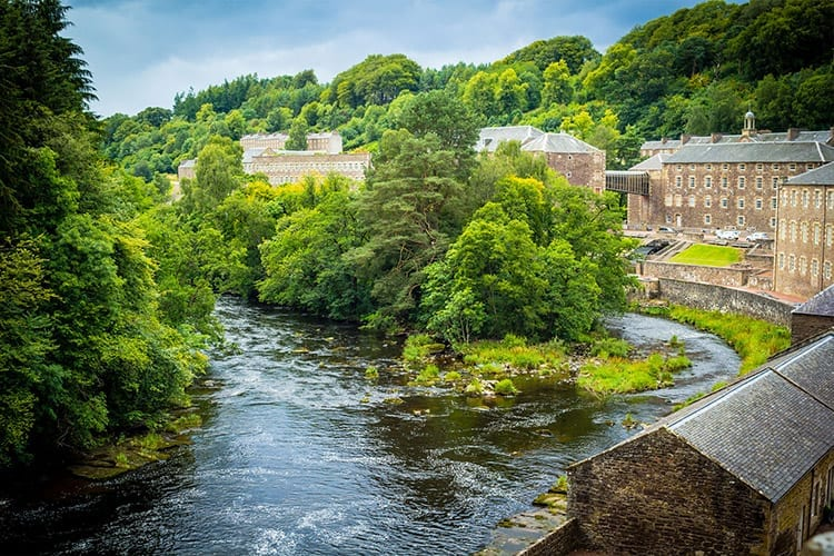 New Lanark, Schotse Laaglanden