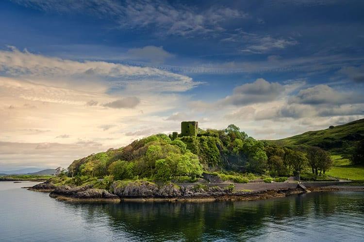 Dunollie Castle bij Oban