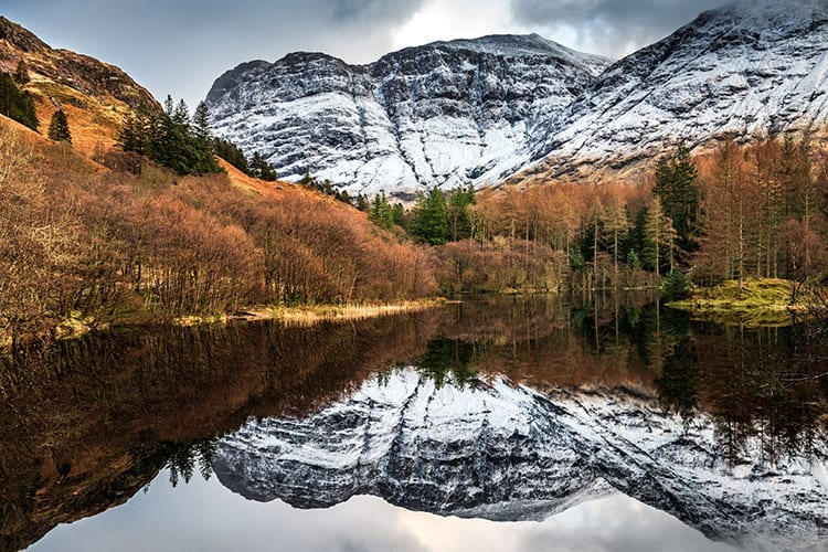 Glencoe Lochan, Schotse Hooglanden