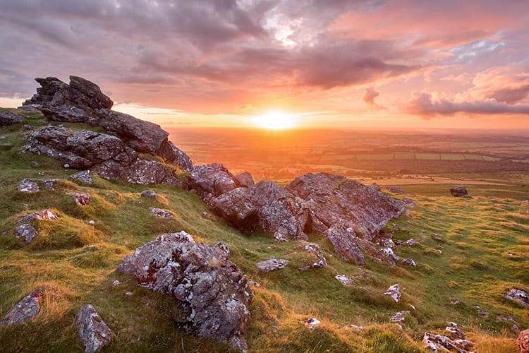 Dartmoor National Park, Engeland