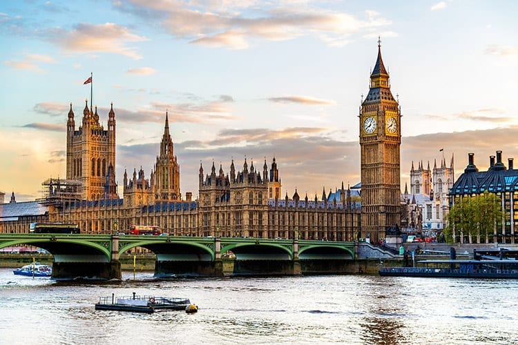 Palace of Westminster, Londen