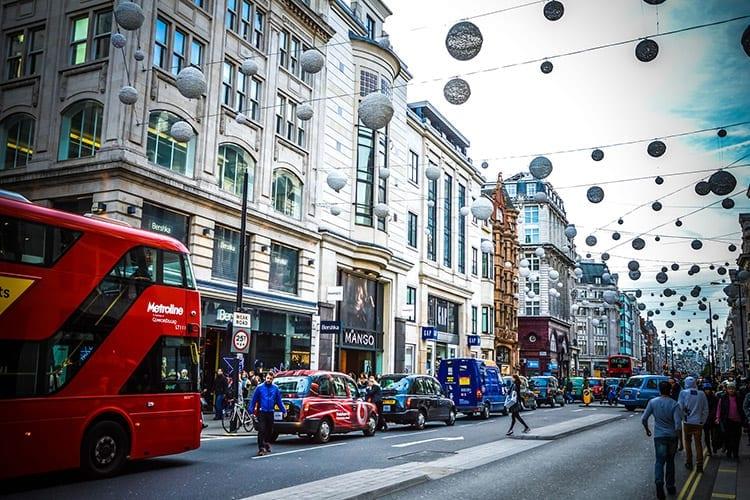 Winkelen in Londen