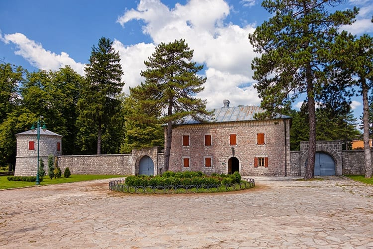 Biljarda, Cetinje