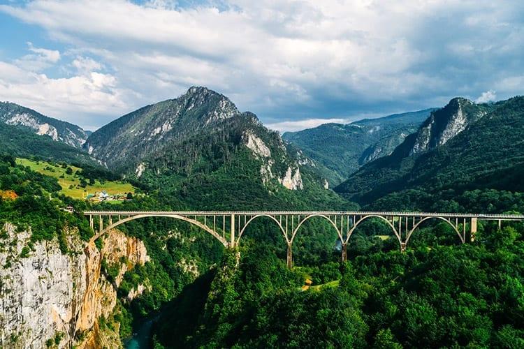 Tara brug, Durmitor Nationaal Park