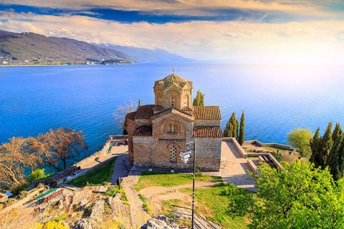 Sveti Jovan Kaneo kerk, Ohrid