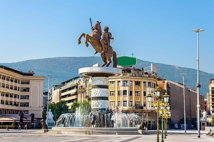 Macedonië plein, Skopje