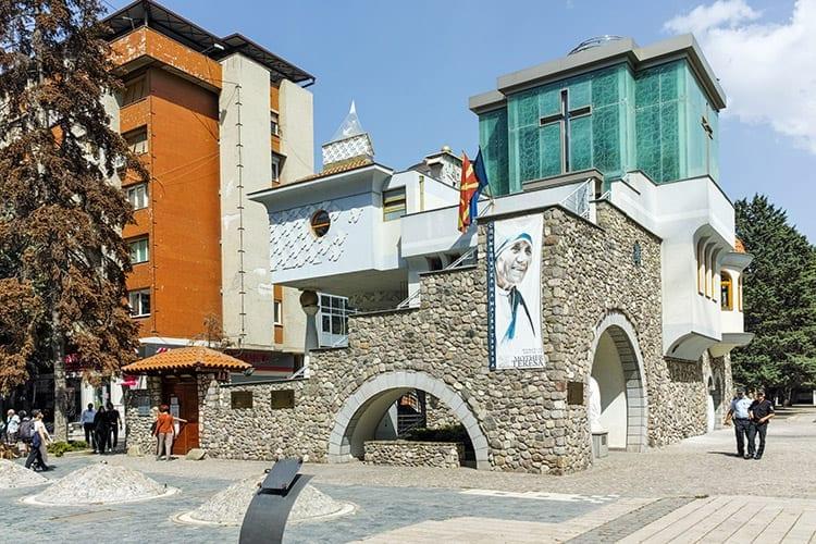 Moeder Teresa gedenkhuis, Skopje