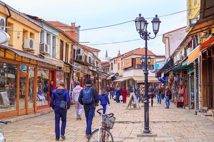 Turkse Bazaar, Skopje
