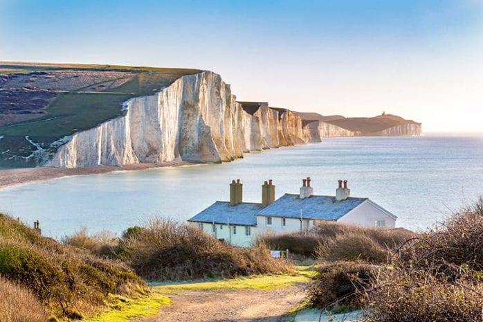 Kliffen van Dover, Kent
