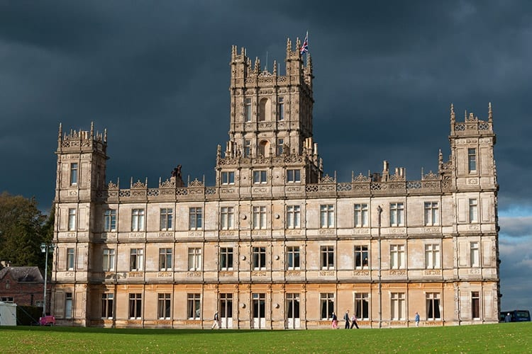 Highclere Castle in Winchester