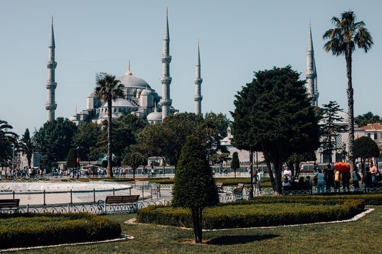 Blauwe Moskee, stedentrip Istanbul