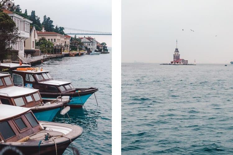 Boottocht over de Bosporus, Istanbul