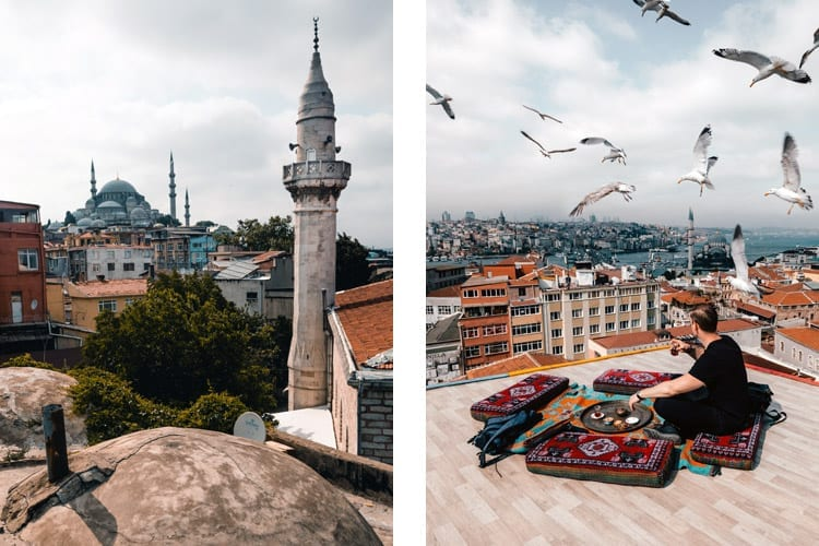 Rooftop Kubbe Istanbul
