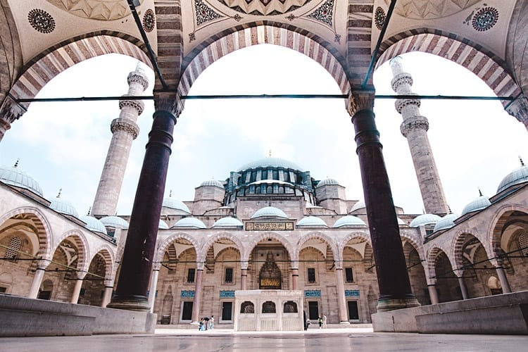 Süleymaniye-moskee, Istanbul