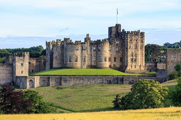 Alnwick Castle, Engeland