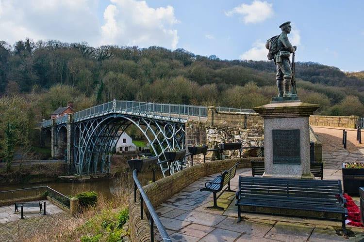 Ironbridge, Midden-Engeland