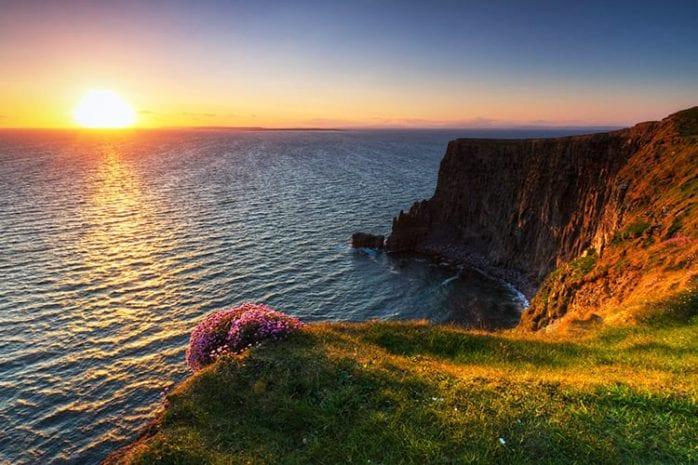 Klliffen van Moher, Ierland