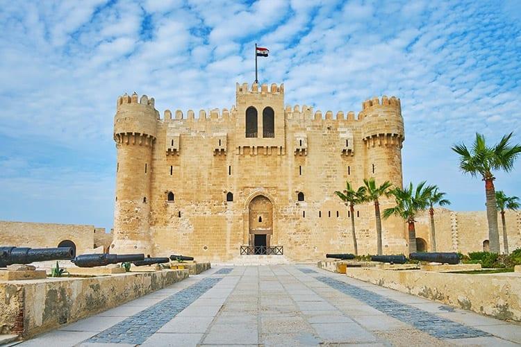 Qaibay, Alexandrië