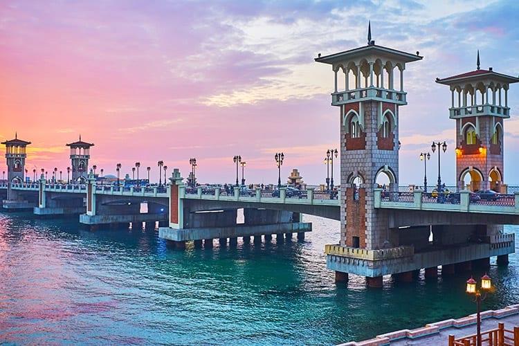 Stanley Bridge, Egypte