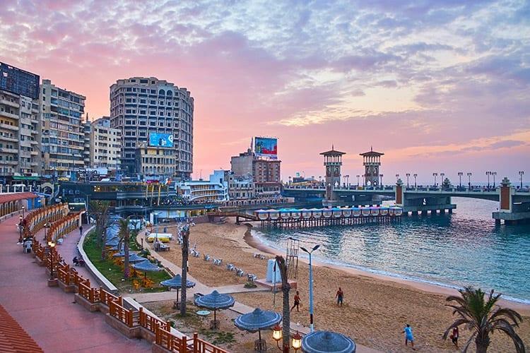 Stanley Beach, Alexandrië
