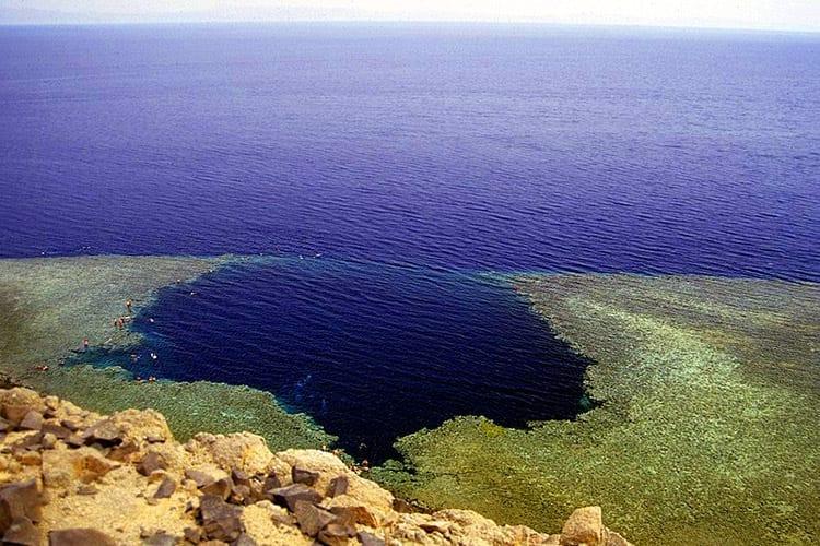 Blue Hole, Egypte