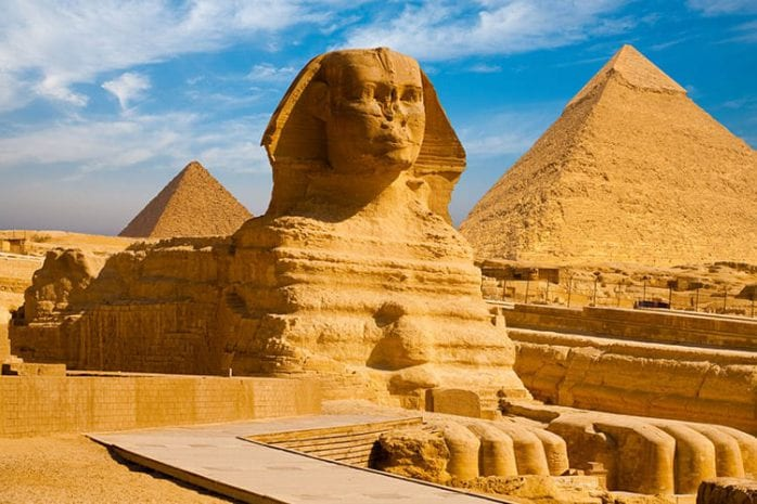 Sfinx van Gizeh, Caïro