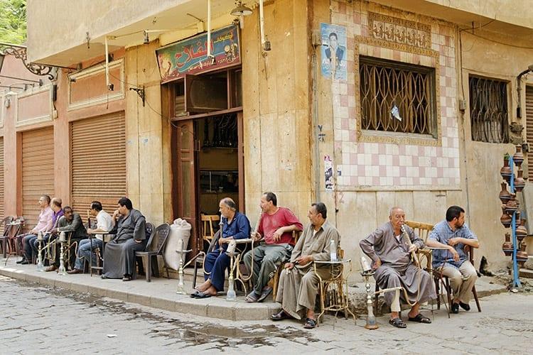 Shisha, Caïro