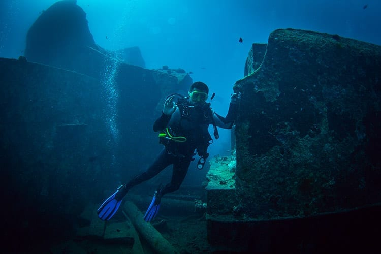 SS Thistlegorm, Egypte
