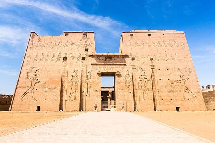 De tempel van Horus, Edfu
