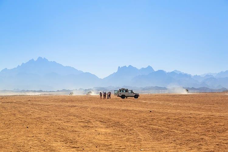 Woestijnsafari, Hurghada